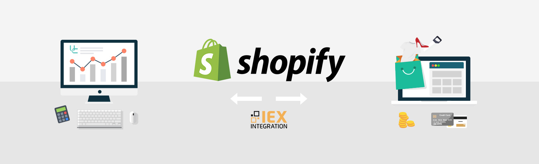IEX Shopify Uniconta integration