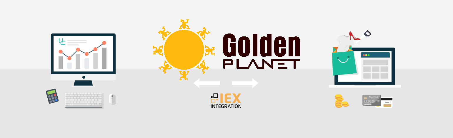 Golden Planet IEX integration til Uniconta